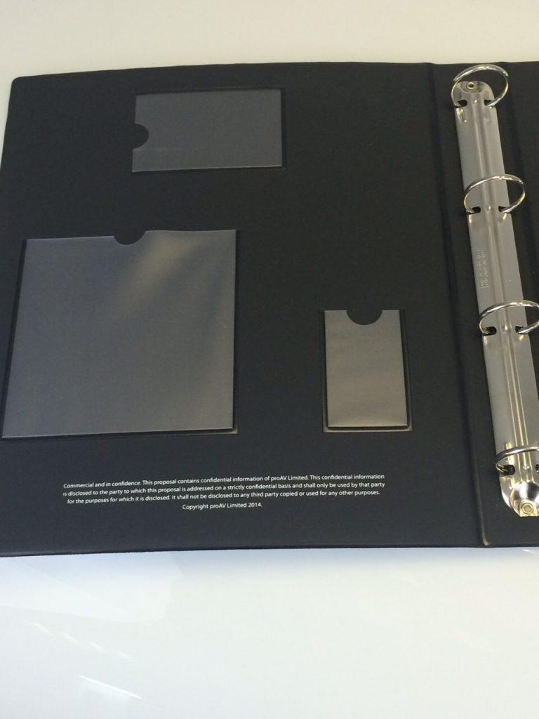 Custom ring binder supplier in the UK