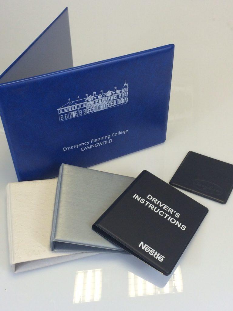 Bespoke ring binder supplier based in Derby