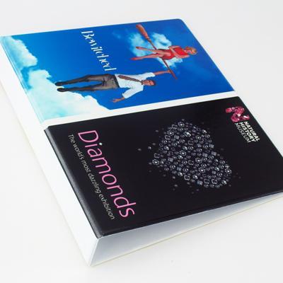 Digitally printed binder