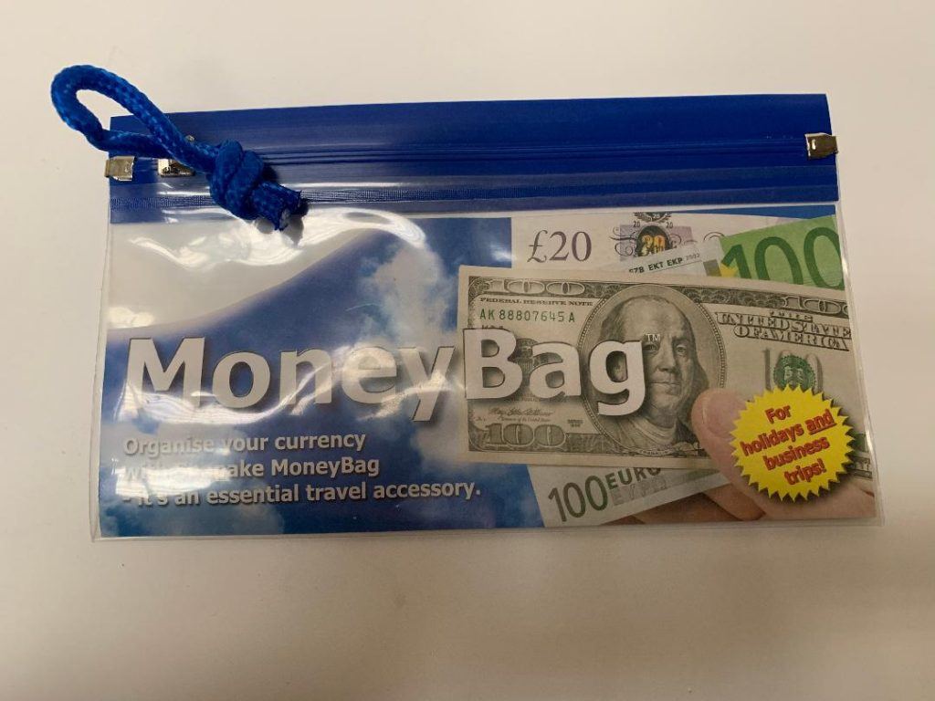 Money bag promotional printer and supplier