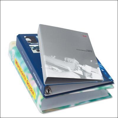 Paper over board binders