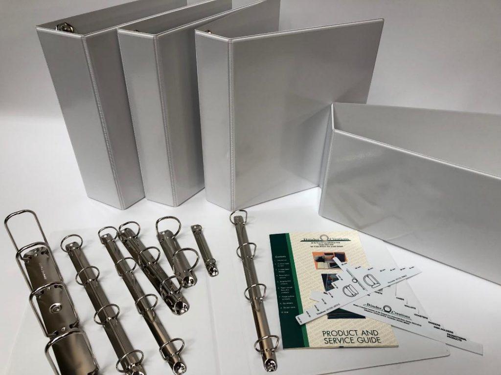 Bespoke presentation ring binders