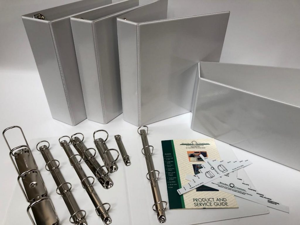 Presentation ring binder supplier and printing