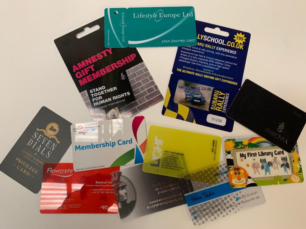Promotional gift card printer Derby