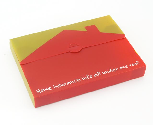 Polypropylene wallet printed