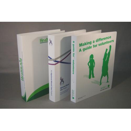 Polypropylene printed binders