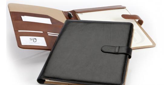 PU & leather folders
