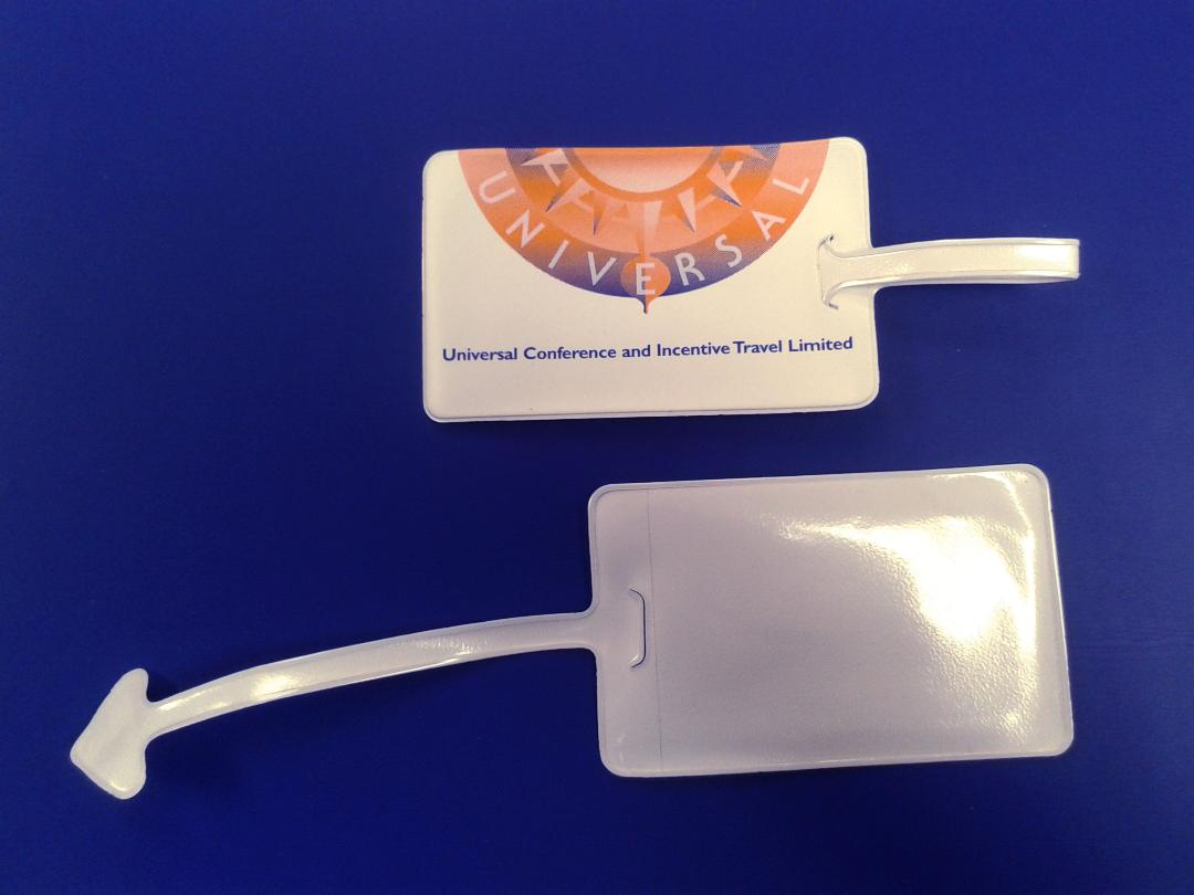 Luggage tag promotional printer and supplier