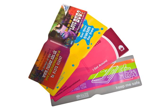 Derby based Oyster wallet promotional printer and supplier